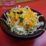 名物 スタ丼 サッポロラーメン - サラダ
