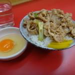 名物 スタ丼 サッポロラーメン - ミニスタ丼