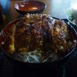 昭和軒 - 料理写真:ソースかつ丼