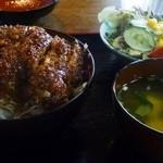 昭和軒 - ソースかつ丼