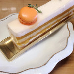 41204793 - マンゴーのケーキ!