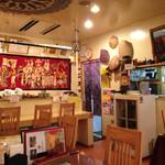 ハル スリランカ - 民芸品で飾ったオシャレな店内