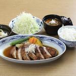 かつ処 豚喜 - 厚切り生姜焼き膳