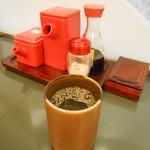 とんかつ・なべ 多津美 - お茶