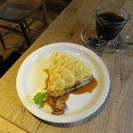 レ・グラン・ザルブル - バナナのタルト&オーガニックブレンド・コーヒー