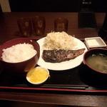 桜の舞 - 塩さば焼き定食(600円)
