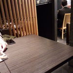 牛たん焼きと伊達ごはん だてなり屋 - 店内 テーブル席
