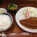 とんかつ 太郎福 - とんかつ定食 700円(税込)