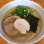 41210276 - 【2015年07月】鶏白湯しおらーめん@750円。