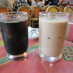 41213144 - アイスコーヒー&アイスチャイ♪