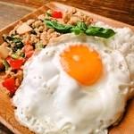 コップン カフェ - 料理写真:ガパオライス