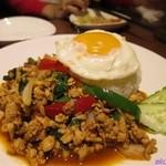 本格タイ料理バル プアン - ガパオガイ