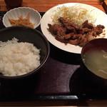 やまや - 豚肉の生姜焼き