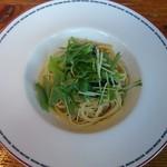セカンドハウス - 小松菜とじゃこのペペロンチーノ