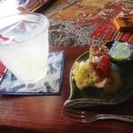ナイヤビンギ - 菜食スイーツとすだちジュース