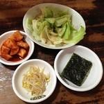 韓国家 - 前菜