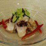 カフェレストランあらかし - 明石蛸ときのこのマリネ