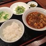 香山 - 料理写真:☆麻婆豆腐ランチ(≧▽≦)/~♡☆