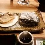 41220397 - 特大天然蛤陶板焼き