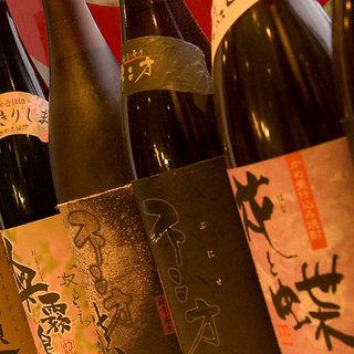 季節ごとに変わるおすすめの日本酒・種類豊富なドリンク
