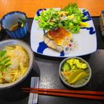 わ可ば - 料理写真:ランチセット ¥1,000