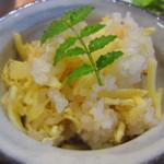 わ可ば - 竹の子ご飯 ¥200