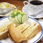 KAFEOTANI - お好み焼き風サンド