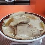 もっこす - チャーシュー麺大盛りで注文です1080円
