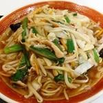 王記厨房 - サンマー麺590円