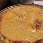 41226856 - とろろ芋の陶板焼き マヨネーズ仕立てに古参立腹、箸つけず(≧◇≦)