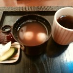 カフェギャラリー柚 - 白玉ぜんざい ¥580
