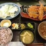 とんかつ浜勝 - 料理写真:ヒレとエビフライランチ