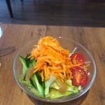 カフェ オレオ - セットのサラダ