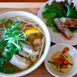 バーバーバーカフェ - 料理写真:フォー定食