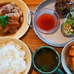バーバーバーカフェ - 本日の定食
