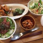 ぐりーんかふぇ おさかな - 料理写真: