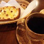 珈琲館 翡翠 - レーズントーストとコーヒー(マンダリン)