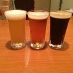 ビールバー クラウド - 飲み比べ