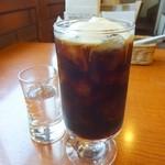 41239312 - モーニングセットのアイスコーヒー