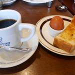 41239640 - 2015/8/15  コーヒーにサービスのモーニング!