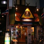 メイファールアンタイレストラン - お店の外観です♪タイの職人さんが作ったそうです★