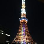 ESCRIBA - テラスからの東京タワー
