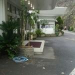 堂ヶ島温泉ホテル - 玄関は6階です。