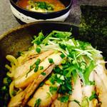 麺魂 - 一六つけそば(チャーシュー味玉付き)冷