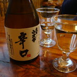 田中屋 - 冷酒で乾杯