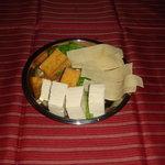 風雲火鍋城 - 豆腐3種盛。豆腐、厚揚げ、干豆腐。