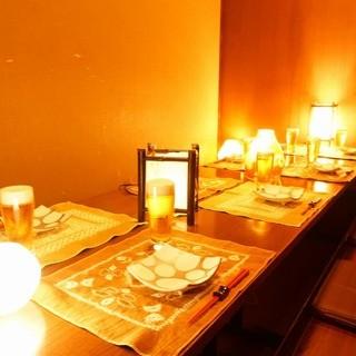 梅田駅近★2名夜景個室~120名個室