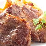 ラ ガジェガ - イベリコ豚のプランチャ1700円
