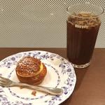 ドトールコーヒーショップ - シューシャポーセット(アイスコーヒーS)