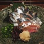 酒菜・からく - 秋刀魚刺 980円